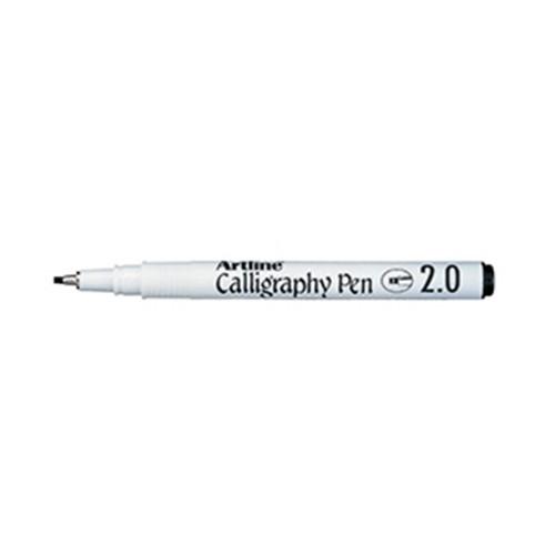 Artline Ek 242 Calligraphy Pen 2mm Black