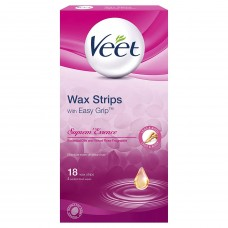 Veet Wax Strip Suprem Essence 18's