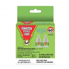 Shieldtox Protect Green LED Refill Twin Pack