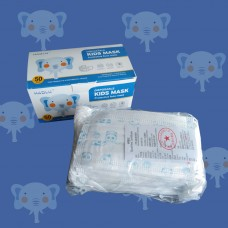 Disposable 3-Ply Kids Mask (Cartoon Blue)