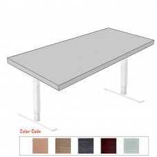 Motorized Adjustable Height Frame with Table Top - Congo
