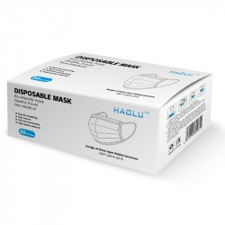 Haolu DisposableProtective FaceMask3-Ply