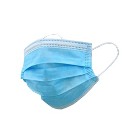 Disposable 3-Ply Non-woven Protective Face Mask (50pcs)
