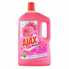 AJAX Fabuloso Rose Fresh Floor Cleaner 3L