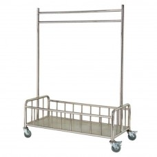 S/Steel Liner Hanging Trolley c/w Bottom Basket Compartment LD-LHT-301/SS (Item No: G01-207)