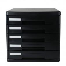 Deli 5 Document Tray (Black) 9773BK