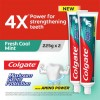 Colgate Maximum Cavity Protection Fresh Cool Mint Toothpaste Valuepack 225g x 2