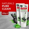 Colgate Naturals Pure Clean (Charcoal & Mint) Toothpaste Valuepack 120g x 2