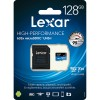 Lexar 633X microSDXC 128GB High-Performance A1 U3 UHS-I Memory Cards with SD Adapter (up to 95MB/s Read, Write 45MB/s)