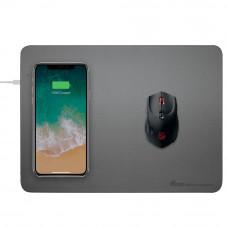 Innoz® QI10W Wireless Fast Charging Mouse Pad - Gray