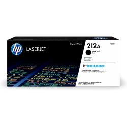 HP 212A Black Original LaserJet Toner Cartridge - 5,500 Page yield