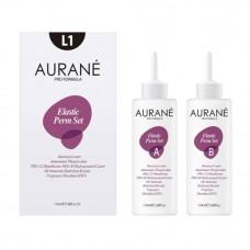 AURANE L1-Elastic Perm 110ML X 2 (Normal Hair)