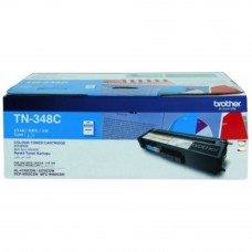 Brother TN-348 Cyan Toner Cartridge 6k