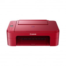 Canon Pixma E3370 Inkjet Printer (Red)
