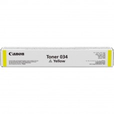 Canon Cartridge 034 Yellow Toner