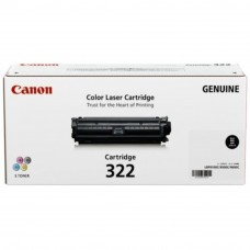 Canon Cartridge 322 Black Toner Cartridge - 6.5k