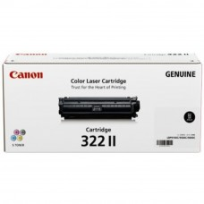 Canon Cartridge 322 II Black Toner Cartridge - 13k