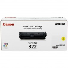 Canon Cartridge 322 Yellow Toner Cartridge - 7.5k