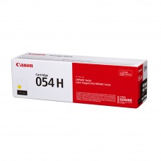Canon 054H Yellow Toner Cartridge 2.3k