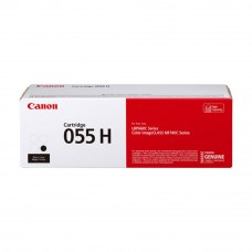 Canon 055H Black Toner Cartridge 7.6k