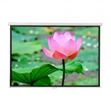 DP Screen Projector Screen - Wall Screen - Matte White - DP-WL-07 - Screen Ratio 7' x 7' - Screen Size 2130 x 2130mm