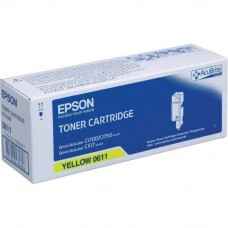 Epson SO50611 Yellow High Cap Toner Cartridge (Item No:EPS SO50611)
