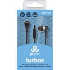 GO GEAR In-Ear Headphones Turbos - Red (Item No: D11-10) A4R3B44