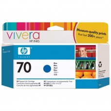 HP 70 DesignJet Ink Cartridge 130-ml - Blue (C9458A)