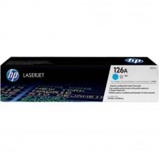 HP 126A Cyan LaserJet Toner Cartridge (CE311A)