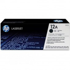 HP 12A Black LaserJet Toner Cartridge (Q2612A)