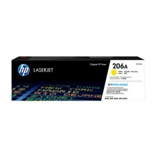 HP 206A Yellow Original LaserJet Toner Cartridge (W2112A)
