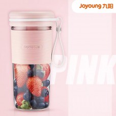 Joyoung Multi-functional Household Small Portable Rechargeable Automatic Juicer Blender Accompanying Mixing Cup - Pink