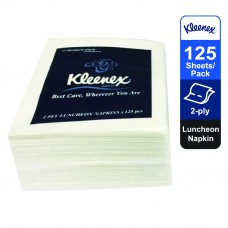 Kleenex® Luncheon Napkin 78411 - white, 2ply, 1pack x 125 sheets (125 sheets)