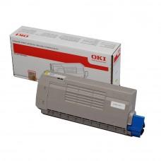 OKI C710/711 YELLOW TONER 11.5k 44318609 (item no: OKI C711 YE)