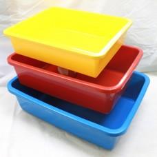 Cat Litter Tray  (Medium)  L43.25 x W31.25 x H12.5cm