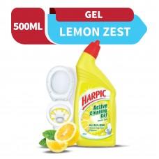 Harpic Liquid Toilet Cleaner Lemon Bottle 500ml