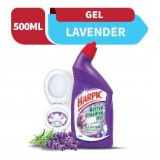 Harpic Liquid Toilet Cleaner Lavender Bottle 500ml