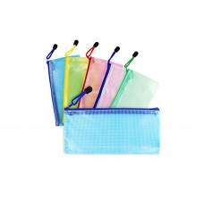 1/2 A5 Mesh Zipper Bag