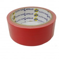 Apollo Premium Cloth Tape 24mm x 6yards Red