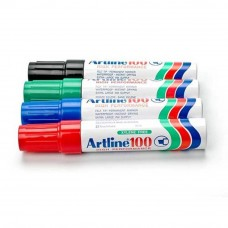 Artline 100 Giant Permanent Marker - EK-100 12mm Blue