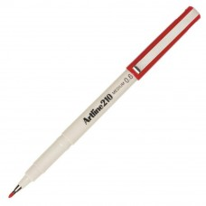 Artline 210 Writing Pen 0.6mm Red ART-210-R