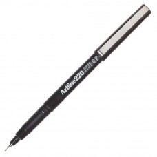 Artline 220 Writing Pen 0.2mm Black