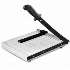 "Stainless Steel A4 Paper Cutter Trimmer 12"" x 10"""