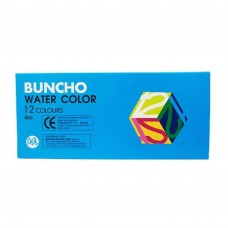 BUNCHO Water Color - 6cc, 12 colors