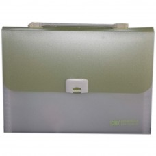 CBE 4308 13P Expanding File W/Handle (A4) Green (Item No: B10-122 GR)