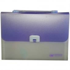 CBE 4308 13P Expanding File W/Handle (A4) Purple (Item No: B10-122 PL)
