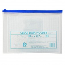 CBE 01305 Zip Document Bag (B5) - Blue (Item No: B10-133BL)  A1R3B164