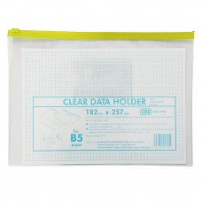 CBE 01305 Zip Document Bag (B5) - Yellow (Item No; B10-133YE)  A1R3B164