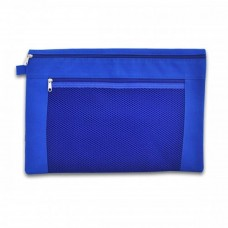 CBE 1026 Zip Document Bag (A4) - Blue (Item No: B10-99BL) A1R3B144