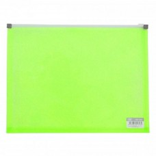 CBE 132A PP Zip Holder - Green (Item No: B10-03 G) A1R3B160